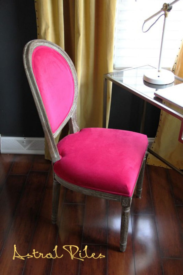 pink chair on astralriles.com