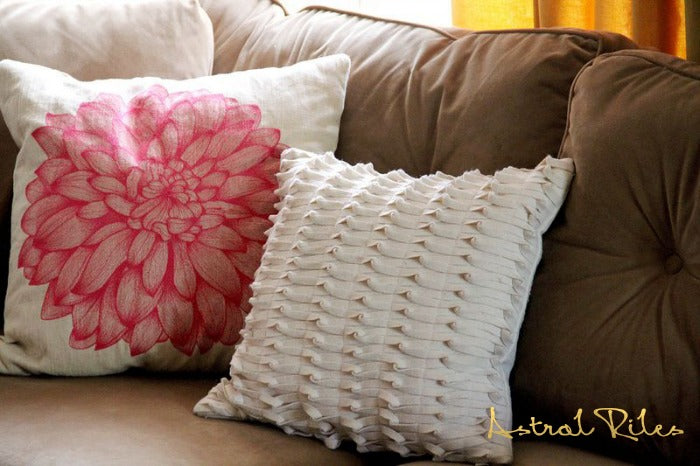 pink pillow on astralriles.com