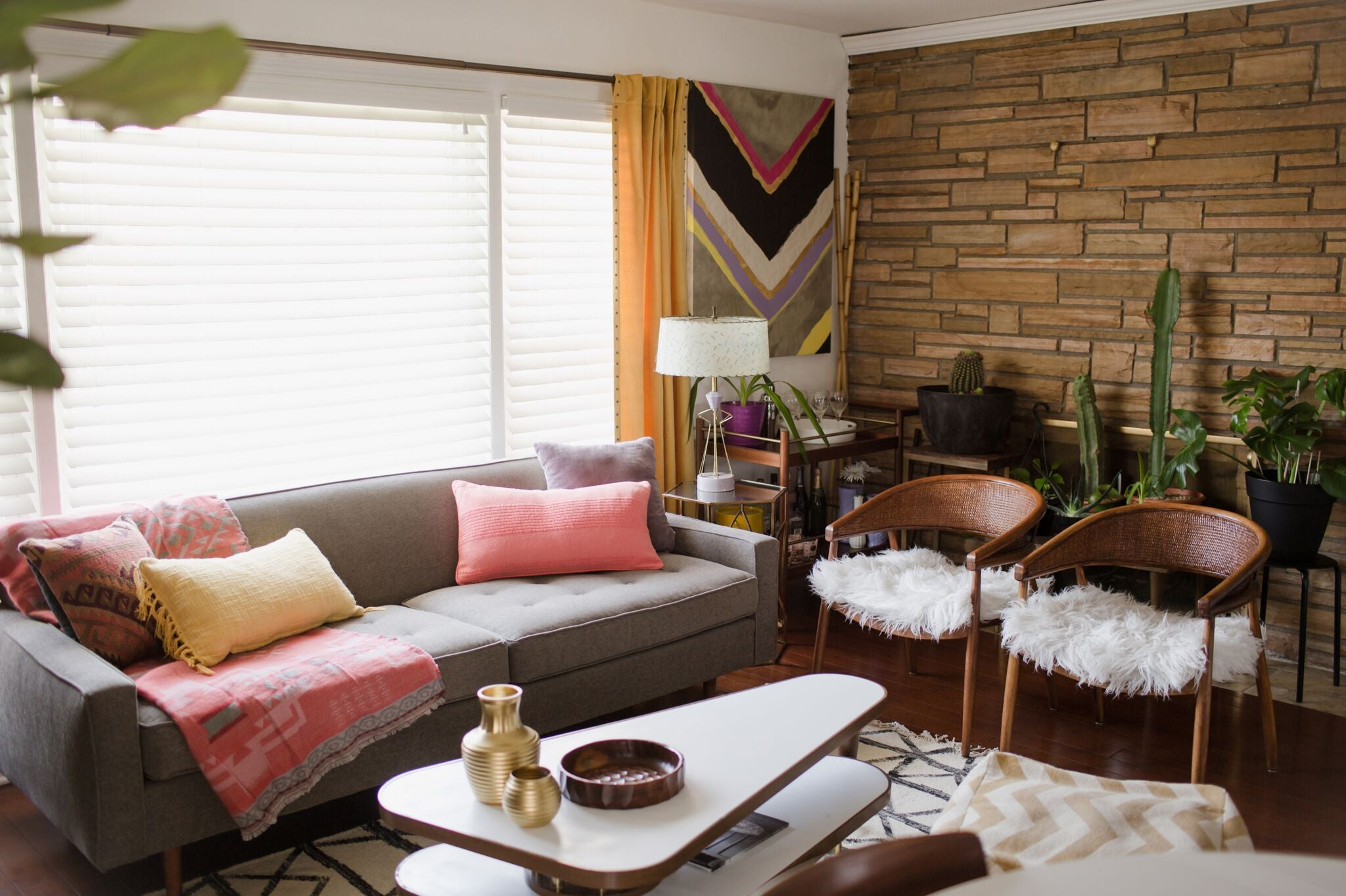 decorating ONE room 3 different ways on astral riles blog 11