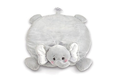 Lil' Spout Gray Elephant Belly Blaket