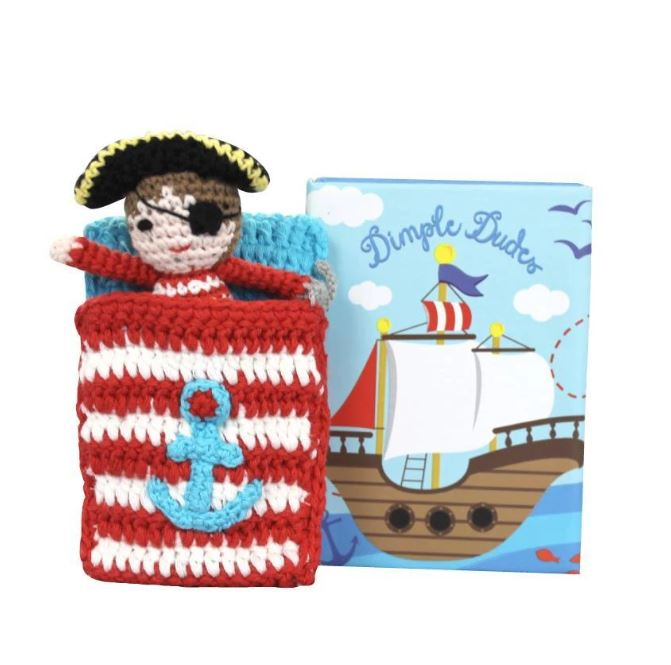 Pirate Crochet Dimple Dude