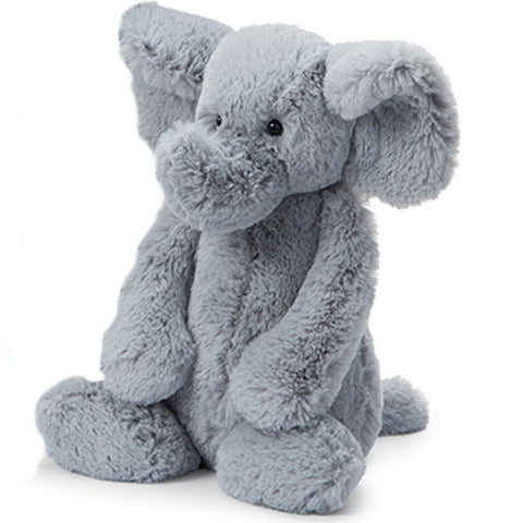 Bashful Grey Elephant - Large Size