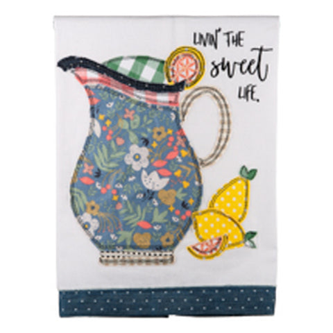 Livin' the Sweet Life Tea Towel