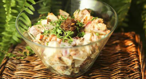 Amish Style Bacon Potato Salad Recipe