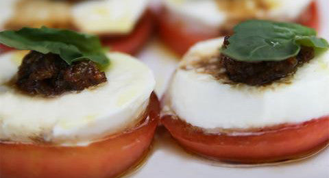 Bacon Jam Caprese Salad