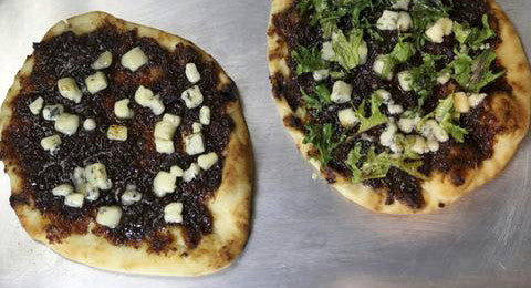 Bacon Jam Gorgonzola Flatbread