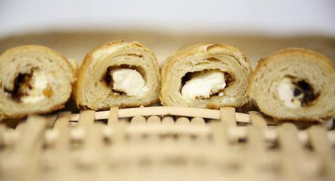 Bacon Jam Cream Cheese Stuffed Rolls Recipe