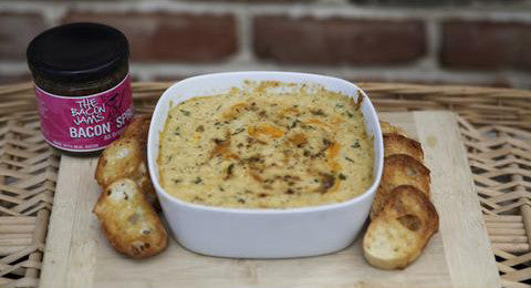 James' Bacon Jam Crabby Dip