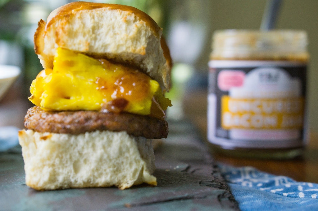 Bacon Jam Breakfast Sliders