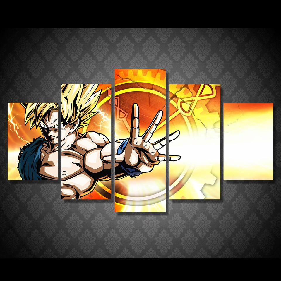 Dragon Ball Z Goku Canvas