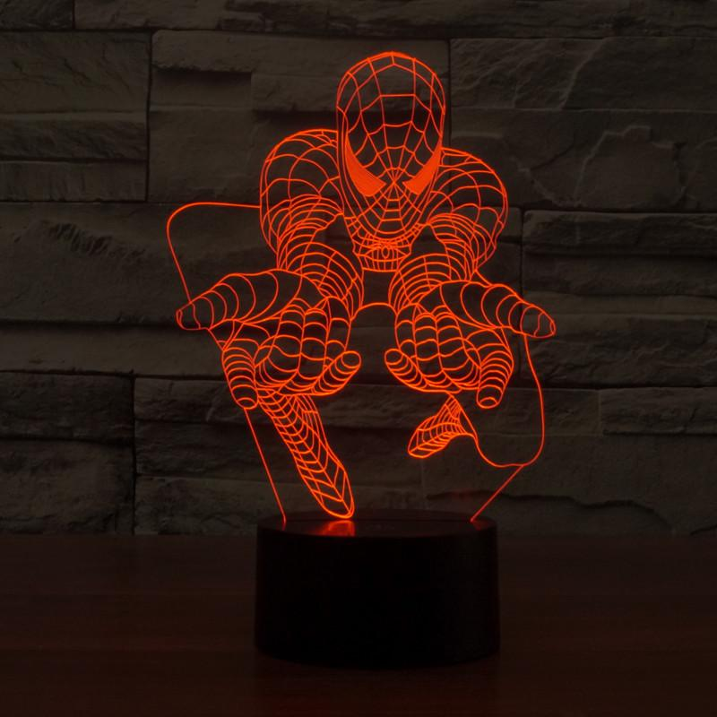3D Spiderman Lamp