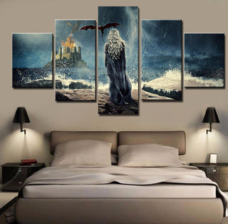 5 Piece Game of Thrones Canvas