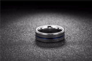 Police Thin Blue Line Ring