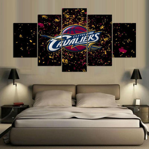 5 Panel Cleveland Cavaliers Canvas