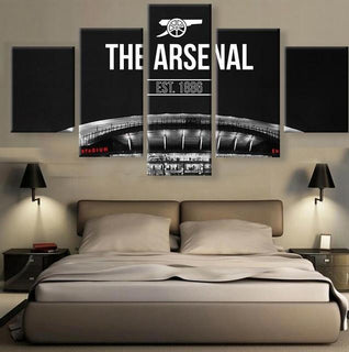 5 Panel Arsenal Canvas