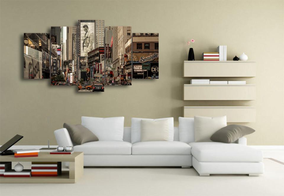 5 Piece 80's New York Canvas
