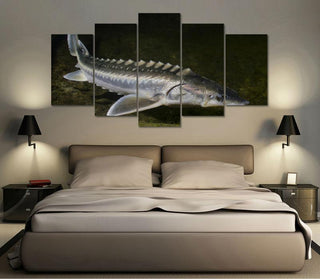 "Sturgeon ""Great River Monster"" Canvas"
