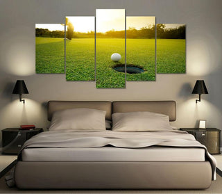 "Golf ""Hole in One"" Canvas"