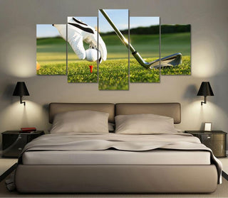 "Golf ""Ready To Swing"" Canvas"