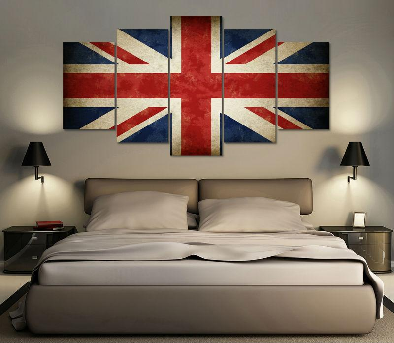 United Kingdom Flag Canvas