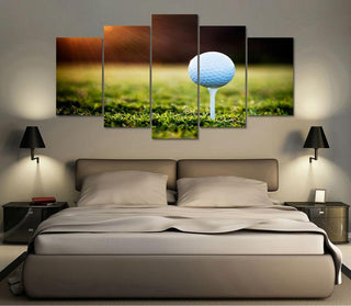 Golf Ball Course Canvas