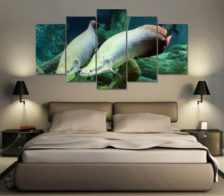 "Sturgeon ""Huge Monster"" Canvas"