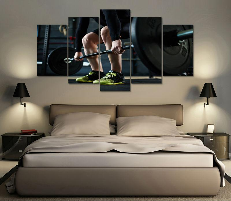 "Fitness ""Dead Lift"" Canvas"
