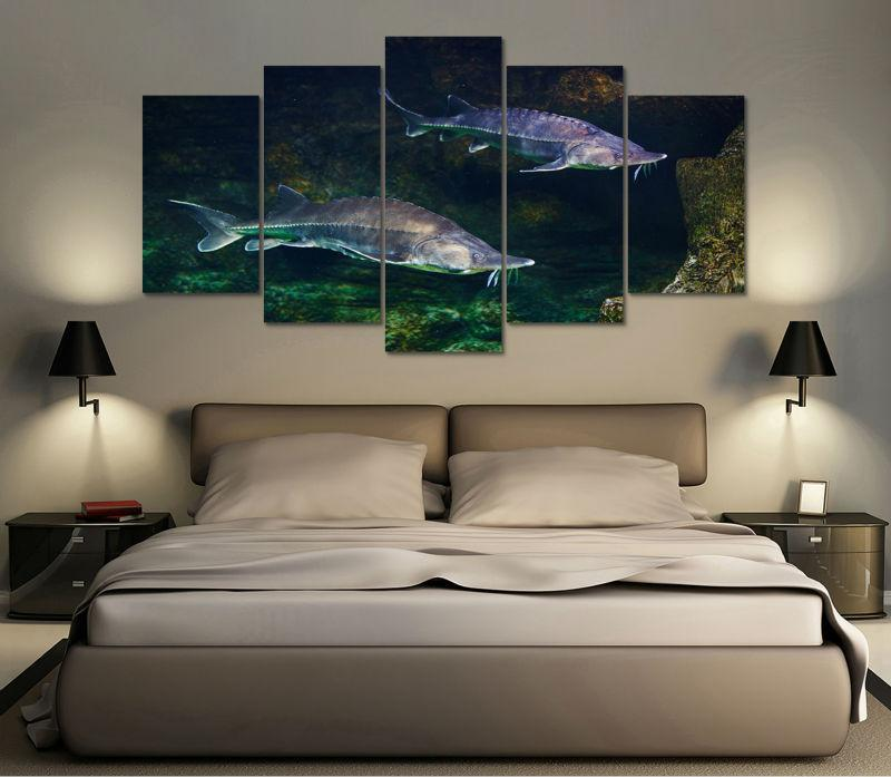 "Sturgeon ""Under The Sea"" Canvas"