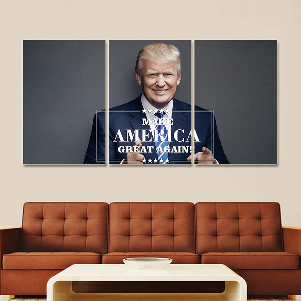 "Donald Trump ""Make America Great Again"" Canvas"