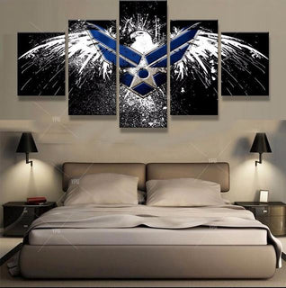 American Air Force Eagle Canvas
