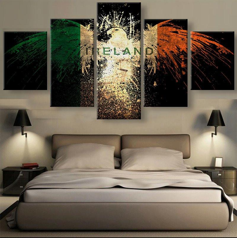 Ireland Eagle Canvas