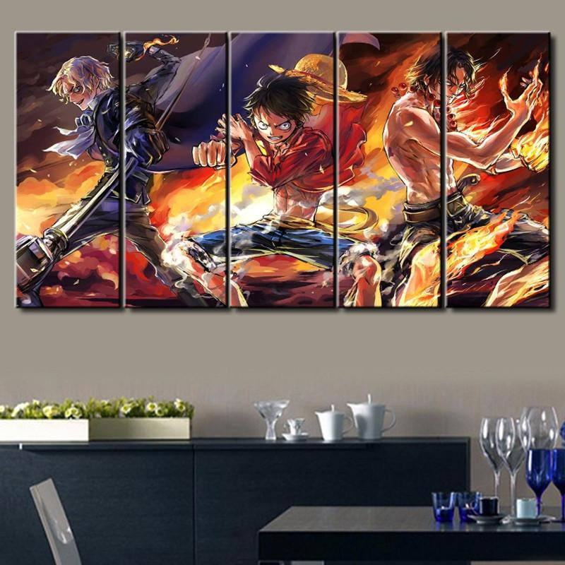 5 Panel One Piece Canvas