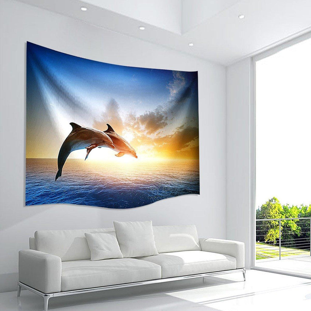 Beautiful Dolphin Tapestry