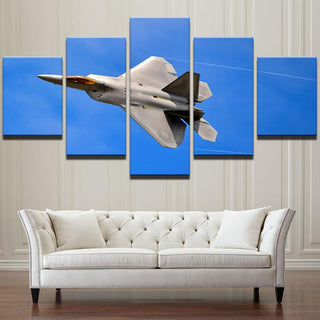 F-22 Jet Fighter Canvas
