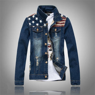 Men's Blue American Jean Jacket