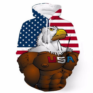 The Buff American Eagle Hoodie