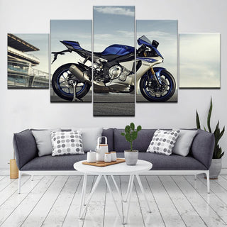 5P Panel R1M Motorcycle Canvas