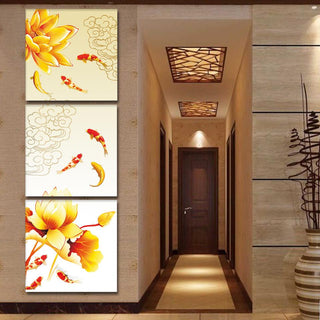 "3 Piece Frameless ""Feng Shui"" Wall Canvas"