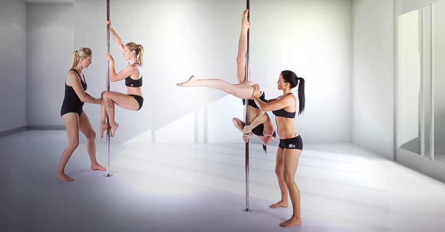 Get fit this January with pole fitness