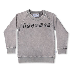 MINTI - BROTHER CREW - GREY WASH