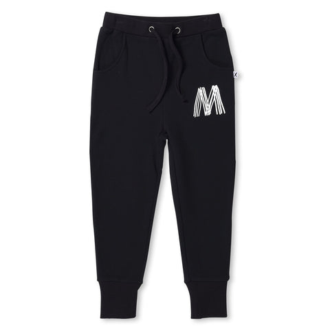 MINTI - FURRY DAY TRACKIES - BLACK