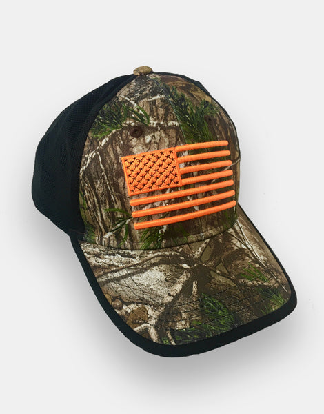 American Flag - REALTREE® Camo Defender Gear Cap