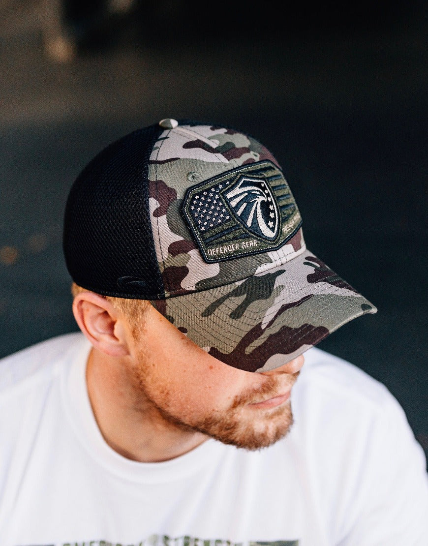 DG Mesh Back Embroidered Patch Hat