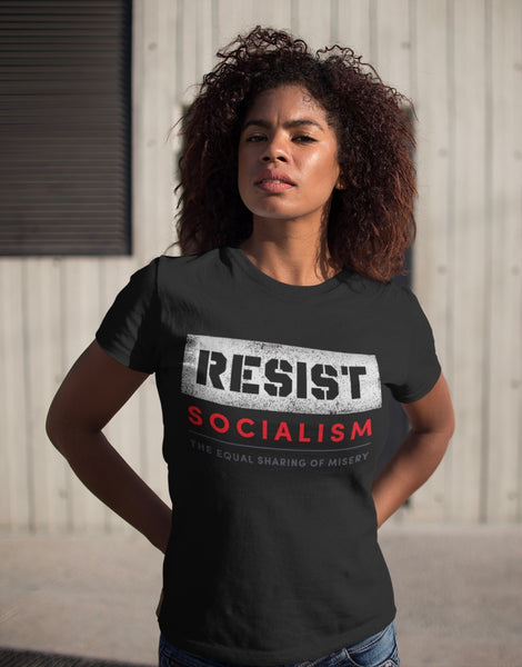 Resist Socialism - Ladies Cut