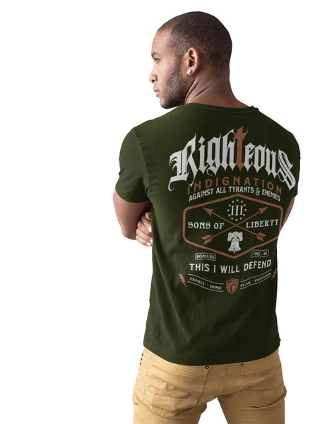 """Righteous Indignation"" Unisex Tee"