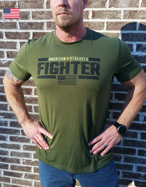 American Strength Fighter Short Sleeve