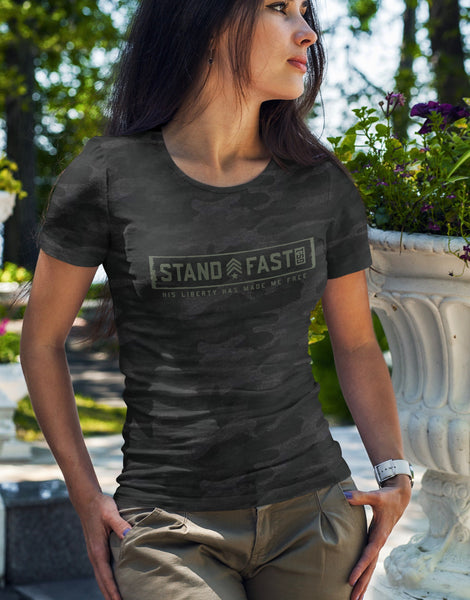 Ladies STAND FAST Jersey Tee