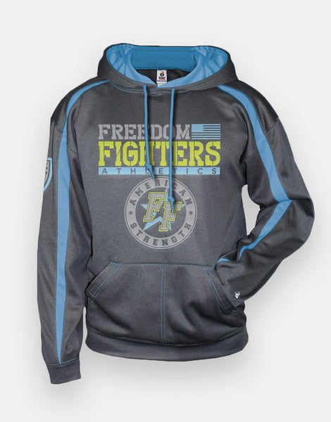 Freedom Fighter Athletics Fusion Hoodie Blue