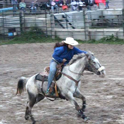 Allison Kraft, barrel racing