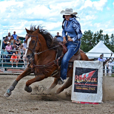Kelli McLeod, Canadian Barrel Racer